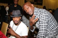 Tyrese, Official Mayor Of 2015 BET Experience amd Ne-Yo attend BET's Radio Remote on Friday, June 26, 2015 at JW Marriott LA Live in Los Angeles, California. (Photo by @ArnoldShoots)