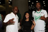 A General view of Tyrese as Official Mayor of 2015 BET Awards Weekend and VIP's (Photo by @ArnoldShoots) Celebrity Basketball Game: Tyrese Gibson, Nicki Minaj, Meek Mill