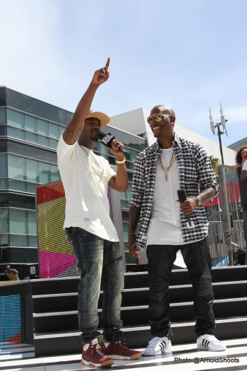"""Rolling With Tyrese """"Official Mayor"""" 2015 BET Awards Radio Remote"""
