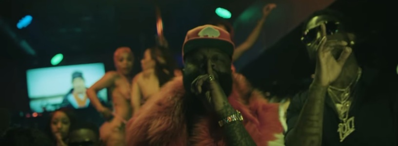 "7a54b450746 New Video  Rick Ross feat. Gucci Mane ""She On My Dick"" – Hip Hop Dose"