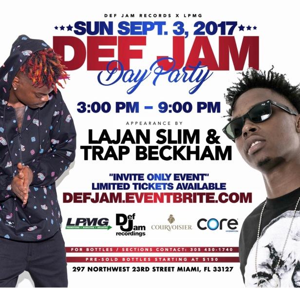 Def Jam Flyer