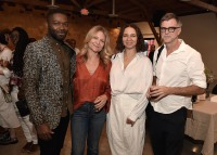 "LOS ANGELES, CA - AUGUST 16: David Oyelowo, Gretchen Lieberum, Maya Rudolph and Paul Thomas Anderson at the Ava Duvernay Hosted Special Screening of the Blumhouse film ""Don't Let Go"" at the Amanda Theater at Array Creative Campus on August 16, 2019 in Los Angeles, California. (Photo by Scott Kirkland/Blumhouse/PictureGroup)"