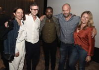 "LOS ANGELES, CA - AUGUST 16: Maya Rudolph, Paul Thomas Anderson, David Oyelowo, Jacob Estes and Gretchen Lieberum at the Ava Duvernay Hosted Special Screening of the Blumhouse film ""Don't Let Go"" at the Amanda Theater at Array Creative Campus on August 16, 2019 in Los Angeles, California. (Photo by Scott Kirkland/Blumhouse/PictureGroup)"