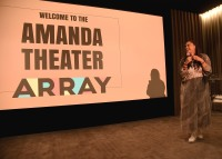 "LOS ANGELES, CA - AUGUST 16: Ava Duvernay at the Ava Duvernay Hosted Special Screening of the Blumhouse film ""Don't Let Go"" at the Amanda Theater at Array Creative Campus on August 16, 2019 in Los Angeles, California. (Photo by Scott Kirkland/Blumhouse/PictureGroup)"