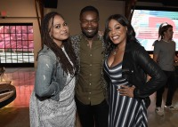 "LOS ANGELES, CA - AUGUST 16: Ava Duvernay, David Oyelowo and Niecy Nash at the Ava Duvernay Hosted Special Screening of the Blumhouse film ""Don't Let Go"" at the Amanda Theater at Array Creative Campus on August 16, 2019 in Los Angeles, California. (Photo by Scott Kirkland/Blumhouse/PictureGroup)"