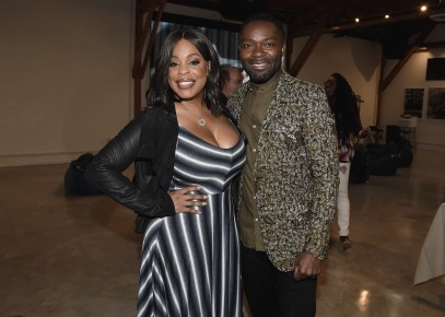 "LOS ANGELES, CA - AUGUST 16: David Oyelowo and Niecy Nash at the Ava Duvernay Hosted Special Screening of the Blumhouse film ""Don't Let Go"" at the Amanda Theater at Array Creative Campus on August 16, 2019 in Los Angeles, California. (Photo by Scott Kirkland/Blumhouse/PictureGroup)"