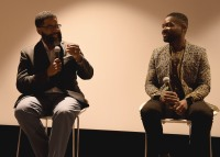 "LOS ANGELES, CA - AUGUST 16: Jamil Smith and David Oyelowo at the Ava Duvernay Hosted Special Screening of the Blumhouse film ""Don't Let Go"" at the Amanda Theater at Array Creative Campus on August 16, 2019 in Los Angeles, California. (Photo by Scott Kirkland/Blumhouse/PictureGroup)"